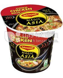 Produktabbildung: Maggi Magic Asia Chinese Chicken Soup 46 g