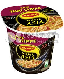 Produktabbildung: Maggi Magic Asia Rote Thai Suppe 49 g