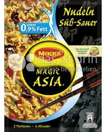 Produktabbildung: Maggi Magic Asia Nudeln süß-sauer 132 g