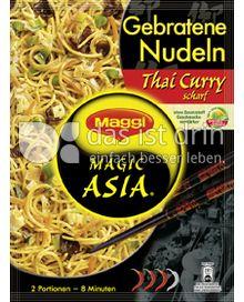 Produktabbildung: Maggi Magic Asia Gebratene Nudeln Thai Curry 130 g