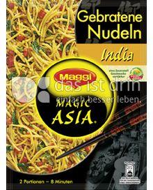 Produktabbildung: Maggi Magic Asia Gebratene Nudeln India 122 g
