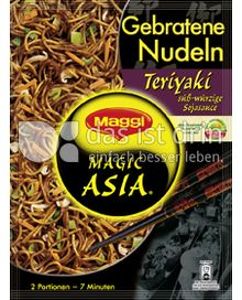 Produktabbildung: Maggi Magic Asia Gebratene Nudeln Teriyaki 130 g