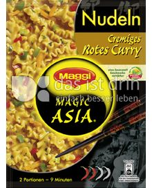 Produktabbildung: Maggi Magic Asia Nudeln Cremiges Rotes Curry 130 g