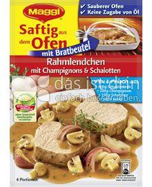 Produktabbildung: Maggi Saftig aus dem Ofen - Rahmlendchen mit Champignons & Schalotten 41 g