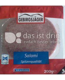 Produktabbildung: Gebirgsjäger Salami 200 g
