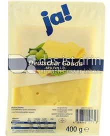 Produktabbildung: ja! Deutscher Gouda 400 g