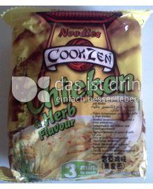 Produktabbildung: Cookzen Hühnchen-Nudeln mit Kräutern 65 g