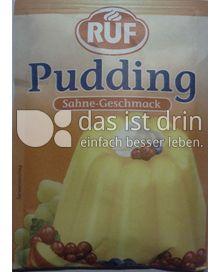 Produktabbildung: RUF Pudding Sahne-Geschmack 3 St.