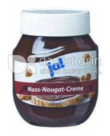 Produktabbildung: ja! Nuss-Nougat-Creme 400 g