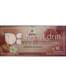 Produktabbildung: Westminster Erdbeere-Himbeere Früchteteee 75 g