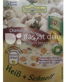 Produktabbildung: Pottkieker Champignoncremesuppe vital 90 g