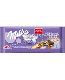 Produktabbildung: Milka Milchcrème mit Haselnusskrokant 100 g