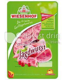 Produktabbildung: Wiesenhof Geflügel Jagdwurst 100 g