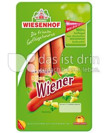 Produktabbildung: Wiesenhof Geflügel Käse-Wiener 200 g