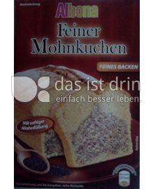 Produktabbildung: Albona Feiner Mohnkuchen 465 g