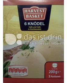 Produktabbildung: Harvest Basket 6 Knödel 200 g