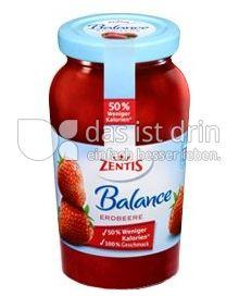 Produktabbildung: Zentis Balance Erdbeere 295 g