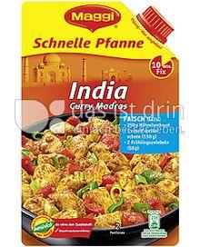 Produktabbildung: Maggi Schnelle Pfanne India 66 ml