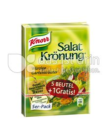 Produktabbildung: Knorr Salatkrönung Würzige Gartenkräuter 6 St.