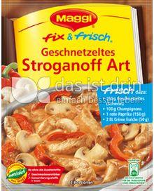 Produktabbildung: Maggi fix & frisch Geschnetzeltes Stroganoff Art 34 g