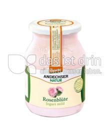 Produktabbildung: Andechser Natur Rosenblüte Joghurt mild 500 g
