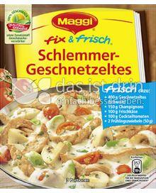 Produktabbildung: Maggi fix & frisch Schlemmer-Geschnetzeltes 43 g