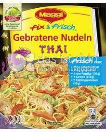 Produktabbildung: Maggi fix & frisch Gebratene Nudeln Thai 30 g