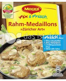 Produktabbildung: Maggi fix & frisch Rahm-Medaillons »Züricher Art« 43 g