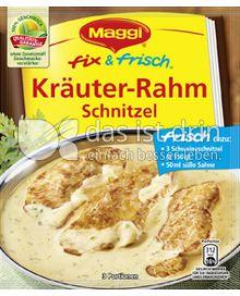 Produktabbildung: Maggi fix & frisch Kräuter-Rahm Schnitzel 42 g