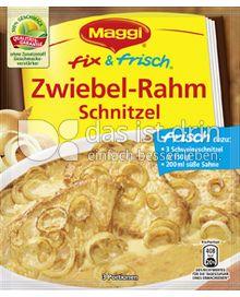 Produktabbildung: Maggi fix & frisch Zwiebel-Rahm Schnitzel 47 g
