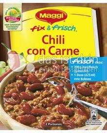 Produktabbildung: Maggi fix & frisch Chili con Carne 38 g