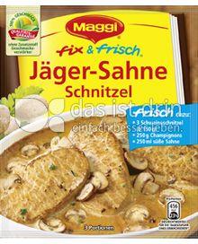 Produktabbildung: Maggi fix & frisch Jäger-Sahne Schnitzel 30 g