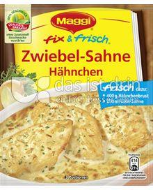 Produktabbildung: Maggi fix & frisch Zwiebel-Sahne Hähnchen 30 g