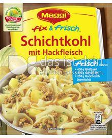 Produktabbildung: Maggi fix & frisch Schichtkohl mit Hackfleisch 36 g