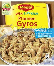Produktabbildung: Maggi fix & frisch Pfannen Gyros 30 g