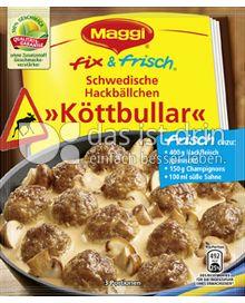 Produktabbildung: Maggi fix & frisch Schwedische Hackbällchen »Köttbullar« 34 g