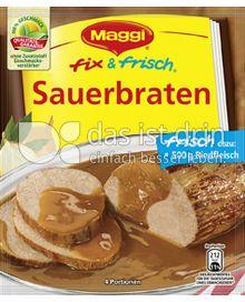 Produktabbildung: Maggi fix & frisch Sauerbraten 46 g
