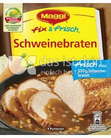 Produktabbildung: Maggi fix & frisch Schweinebraten 36 g
