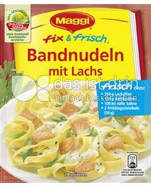 Produktabbildung: Maggi fix & frisch Bandnudeln mit Lachs 43 g