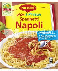 Produktabbildung: Maggi fix & frisch Spaghetti Napoli 44 g