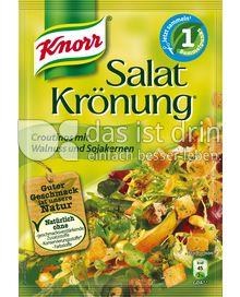 Produktabbildung: Knorr Salatkrönung Croutinos mit Walnuss und Sojakernen 25 g