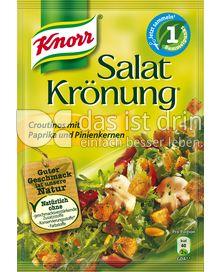 Produktabbildung: Knorr Salatkrönung Croutinos mit Paprika und Pinienkernen 25 g