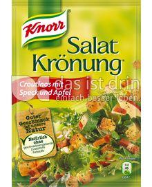 Produktabbildung: Knorr Salatkrönung Croutinos mit Speck und Apfel 25 g