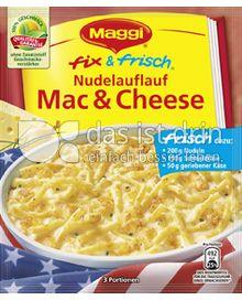 Produktabbildung: Maggi fix & frisch Nudelauflauf Mac & Cheese 30 g
