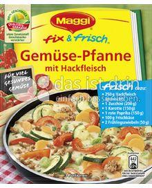 Produktabbildung: Maggi fix & frisch Gemüse-Pfanne mit Hackfleisch 40 g