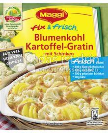 Produktabbildung: Maggi fix & frisch Blumenkohl Kartoffel-Gratin 51 g