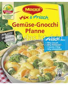 Produktabbildung: Maggi fix & frisch Gemüse-Gnocchi Pfanne 31 g