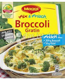 Produktabbildung: Maggi fix & frisch Broccoli Gratin 40 g