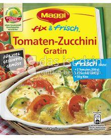 Produktabbildung: Maggi fix & frisch Tomaten-Zucchini Gratin 47 g