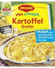 Produktabbildung: Maggi fix & frisch Kartoffel Gratin 48 g